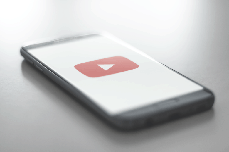 YouTube on mobile device