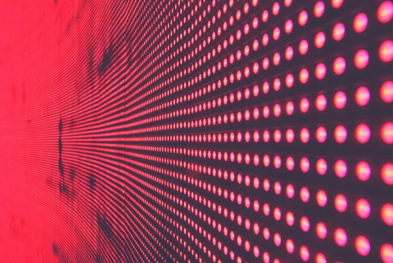 red electrodes distribution