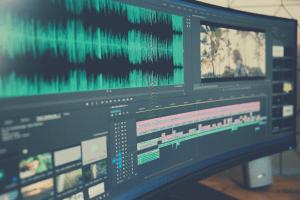 video editing suite